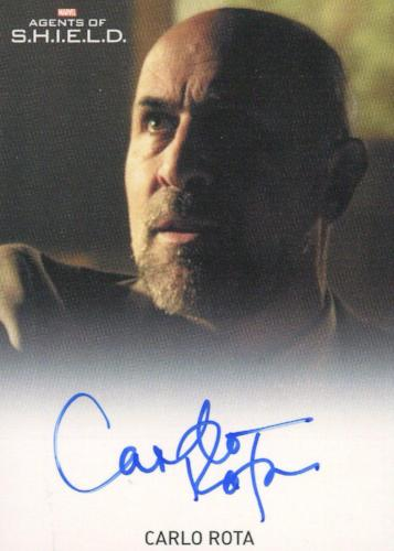 Agents of S.H.I.E.L.D. Season 1 Carlo Rota Autograph Card   - TvMovieCards.com