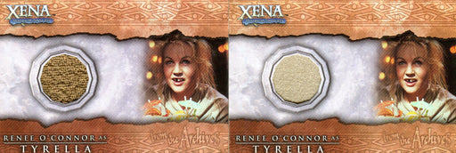 Xena Beauty and Brawn Renee O'Connor as Tyrell Costume Card Variants C4   - TvMovieCards.com