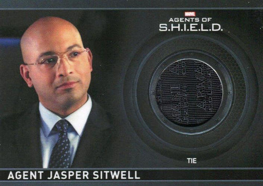 Agents of S.H.I.E.L.D. Season 1 Agent Jasper Sitwell Costume Card CC15   - TvMovieCards.com