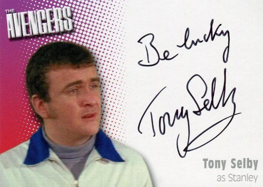 Avengers TV Definitive 2 Tony Selby as Stanley Autograph Card A10   - TvMovieCards.com