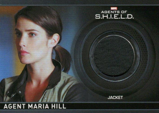 Agents of S.H.I.E.L.D. Season 1 Agent Maria Hill Costume Card CC9 Black   - TvMovieCards.com