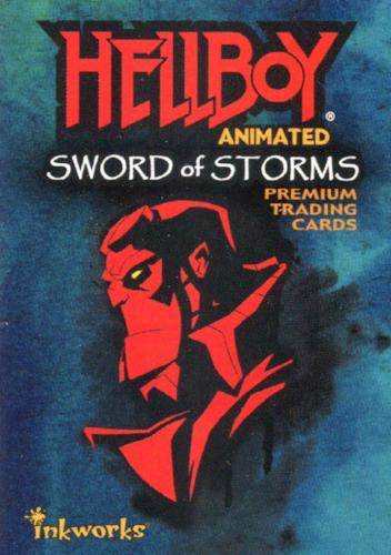 Hellboy Animated Sword of Storms Base Card Set 72 Cards Inkworks 2007   - TvMovieCards.com