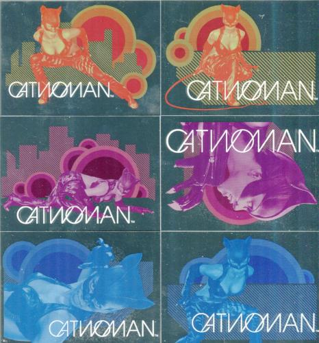 Catwoman Movie Cat Vision Chase Card Set CV1 - CV6   - TvMovieCards.com