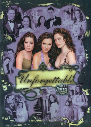 Charmed Destiny Unforgettable Foil Puzzle Chase Card Set U-1 thru U-9   - TvMovieCards.com