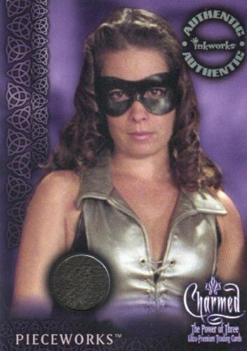 Charmed The Power of Three Piper Pieceworks Costume Card PW-3 Variant #1   - TvMovieCards.com