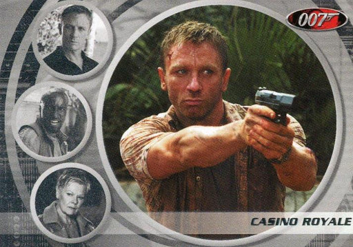 James Bond The Complete Casino Royale Expansion Chase Card BG47