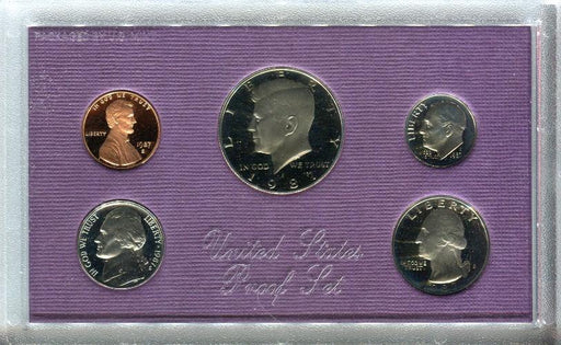 United States Mint Proof Coin Set 1987   - TvMovieCards.com