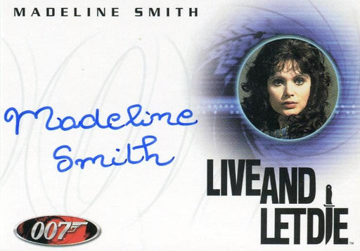 James Bond A49 The Quotable James Bond Madeline Smith Autograph Card   - TvMovieCards.com