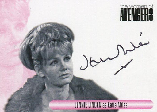 Avengers TV The Women Jennie Linden as Katie Miles Autograph Card WAJL   - TvMovieCards.com