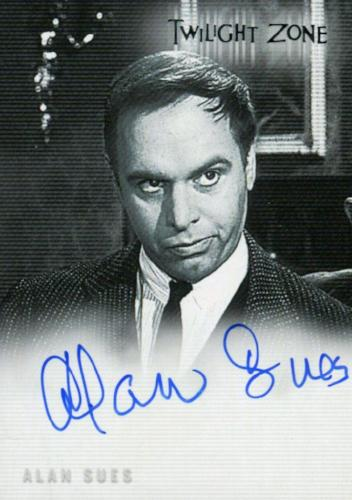 Twilight Zone 4 Science and Superstition Alan Sues Autograph Card A-74   - TvMovieCards.com