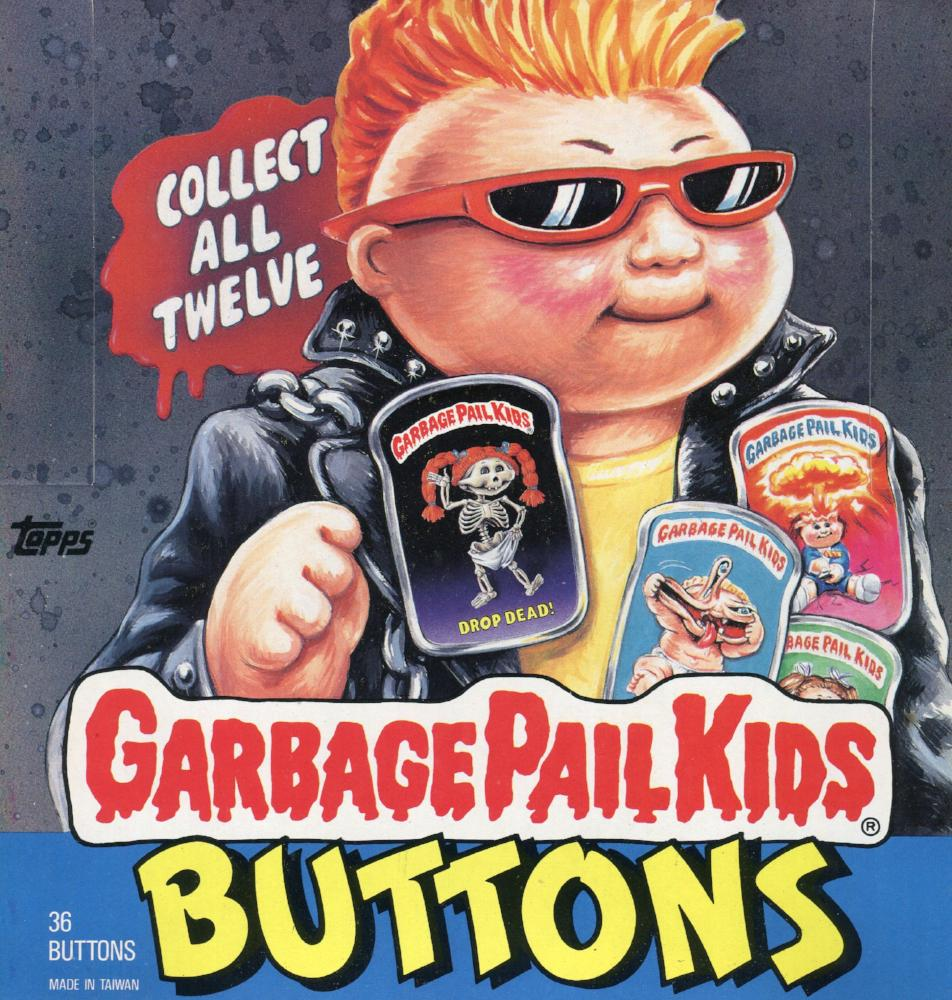 Garbage Pail Kids GPK Buttons Box Front