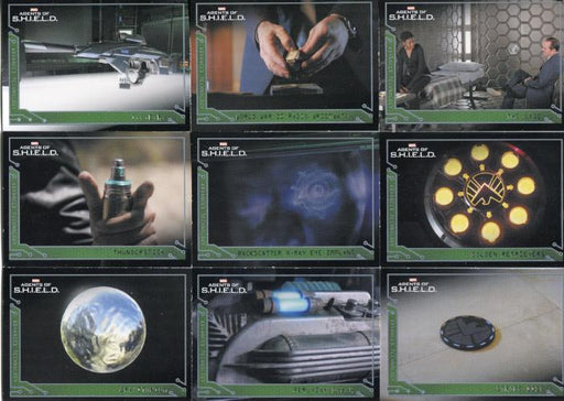Agents of S.H.I.E.L.D. Season 1 Advanced Technology Chase Card Set   - TvMovieCards.com