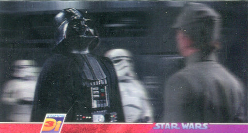 Star Wars 3Di Widevision Promo Card #1 Lenticular Motion Widevision Card   - TvMovieCards.com