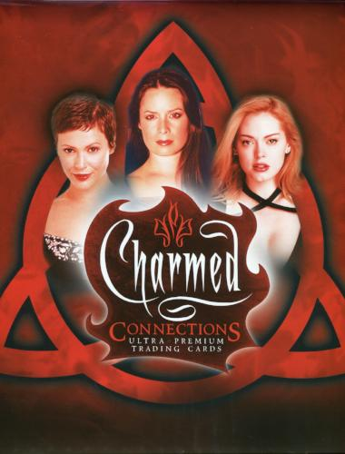 Charmed Connections Collector Card Album Empty   - TvMovieCards.com