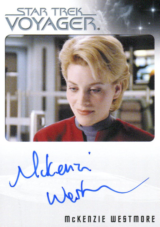 Star Trek Voyager Heroes Villains Autograph Card McKenzie Westmore as Jenkins   - TvMovieCards.com
