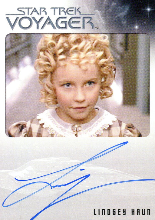 Star Trek Voyager Heroes Villains Autograph Card Lindsey Haun as Beatrice   - TvMovieCards.com