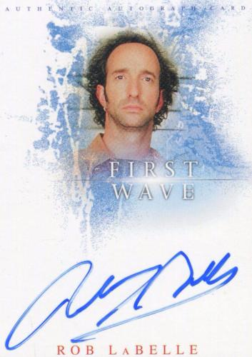 First Wave Rob LaBelle as Eddie Nambulous Autograph Card A3   - TvMovieCards.com