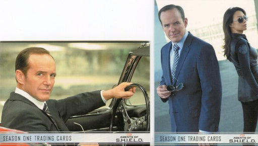 Agents of S.H.I.E.L.D. Season 1 Promo Card Set 2 Cards   - TvMovieCards.com