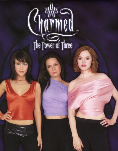 Charmed The Power of Three Collector Card Album Slightly Damaged   - TvMovieCards.com