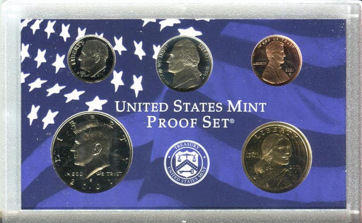 United States Mint 50 State Quarters Proof Coin Set 2001   - TvMovieCards.com
