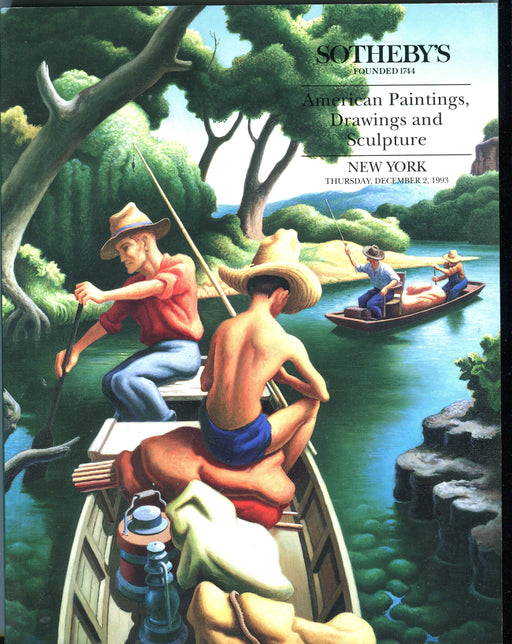 Sothebys Auction Catalog Dec 3 1993 American Paintings Drawings Sculpture   - TvMovieCards.com