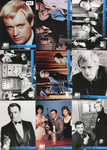 Man from U.N.C.L.E. Preview Card Set B 10 Cards Front