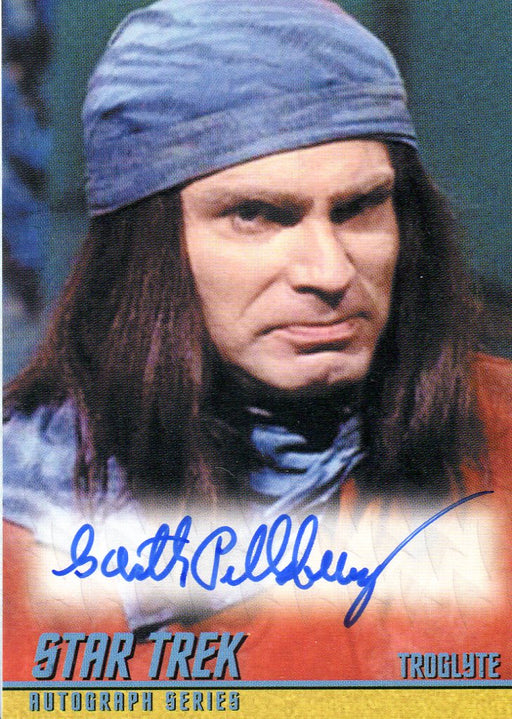 Star Trek TOS Portfolio Prints Garth Pillsbury Autograph Card A256   - TvMovieCards.com