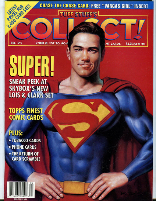 Tuff Stuff's Collect! Magazine Jan 1993 - Sept 1999 (72 Issues) You Pick! Februrary 1995  - TvMovieCards.com