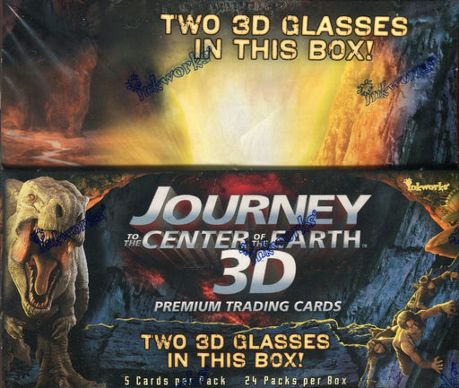 Journey to the Center of the Earth Movie 3D Card Box   - TvMovieCards.com