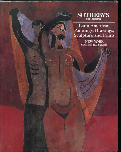 Sothebys Auction Catalog Nov 1993 Latin American Paintings Drawings Sculpture   - TvMovieCards.com