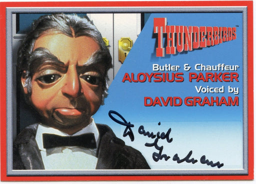 Thunderbirds Premium David Graham Autograph Card A7   - TvMovieCards.com