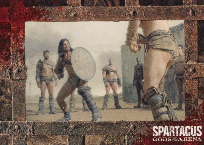Spartacus Premium Packs Gladiators in Action Chase Card G7 Front