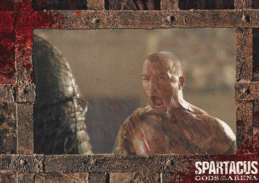 Spartacus Premium Packs Gladiators in Action Chase Card G8   - TvMovieCards.com