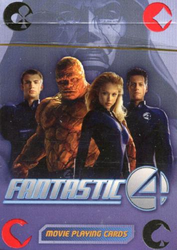 Fantastic Four Movie and Comic Playing Card Deck 55 Cards   - TvMovieCards.com