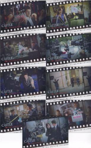 Castle Seasons 1 & 2 Behind the Scenes Cell Chase Card Set   - TvMovieCards.com