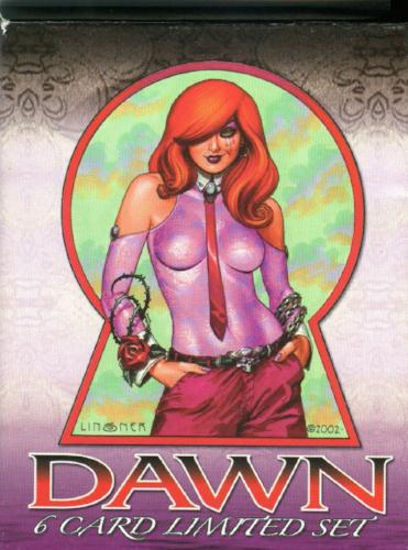 Dawn Joseph Michael Linsner Dawn's Fool's Game Collectors Card Set   - TvMovieCards.com