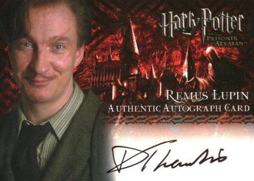 Harry Potter and the Prisoner of Azkaban David Thewlis Autograph Card   - TvMovieCards.com