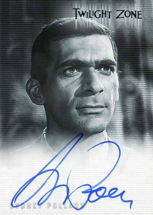 Twilight Zone 4 Science and Superstition Sydney Pollack Autograph Card A-73   - TvMovieCards.com