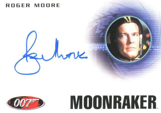 James Bond Archives Final Edition 2017 Roger Moore Autograph Card A223   - TvMovieCards.com