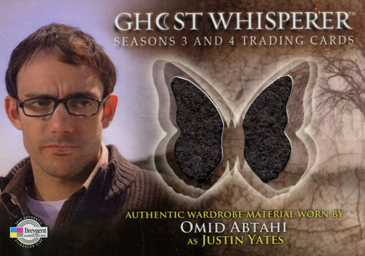 Ghost Whisperer Seasons 3 & 4 Omid Abtahi as Justin Yates Costume Card C26   - TvMovieCards.com