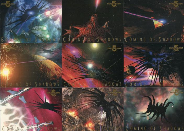 Babylon 5 Coming of Shadows Chase Card Set 9 Cards 1996   - TvMovieCards.com
