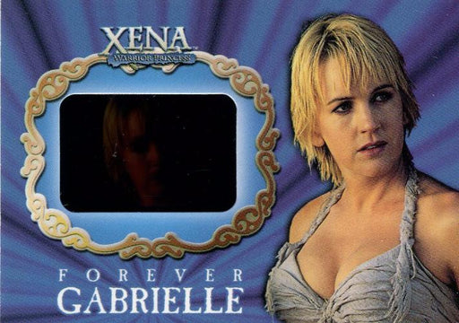 Xena Season Six Forever Gabrielle Film Chase Card G2   - TvMovieCards.com
