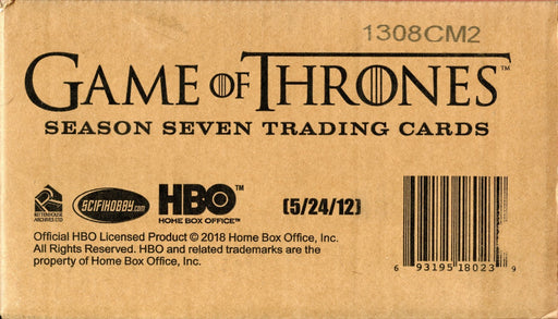 Game of Thrones Season 7 Sealed Factory Sealed Case / 12 Card Boxes   - TvMovieCards.com