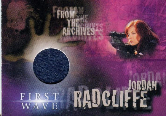 First Wave Traci Elizabeth Lords as Jordan Radcliffe Costume Card TLC3 Front