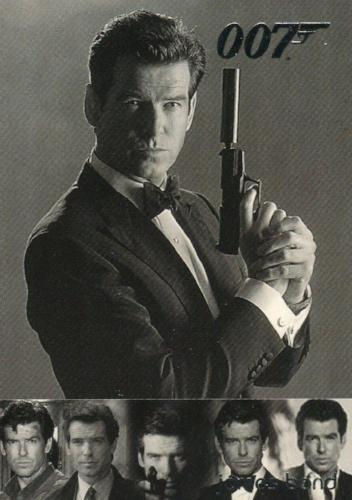 James Bond The Quotable James Bond Vintage Bond Chase Card VB5 #689/700   - TvMovieCards.com