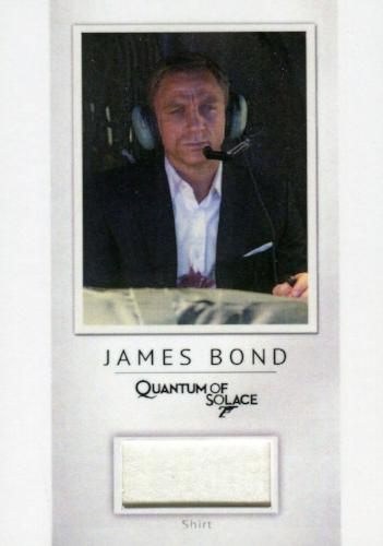 James Bond Archives Final Edition 2017 Relic Costume Card PR26 #066/200   - TvMovieCards.com