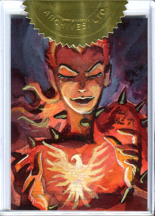X-Men Archives 2009 Autograph Sketch Card 3 Case Incentive by Andy Price   - TvMovieCards.com