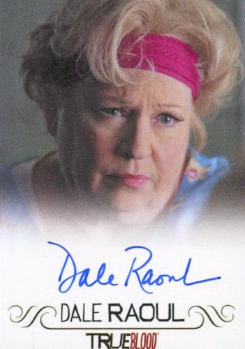 True Blood Archives Dale Raoul Autograph Card   - TvMovieCards.com