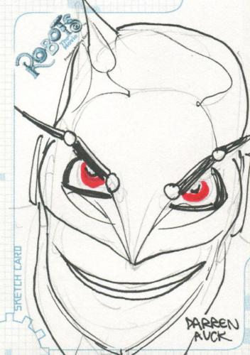 Robots Movie Artist Darren Auck Autograph Sketch Card SK.12 #420/500   - TvMovieCards.com