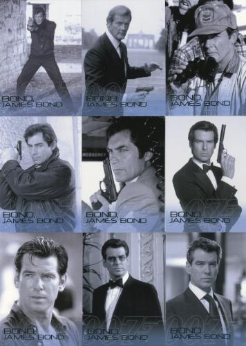 James Bond 50th Anniversary Series One Bond James Bond Chase Card Set 11 Cards   - TvMovieCards.com